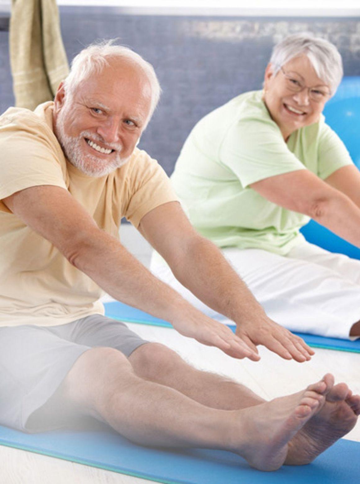 Фитнес лечебный, суставная гимнастика, ЛФК